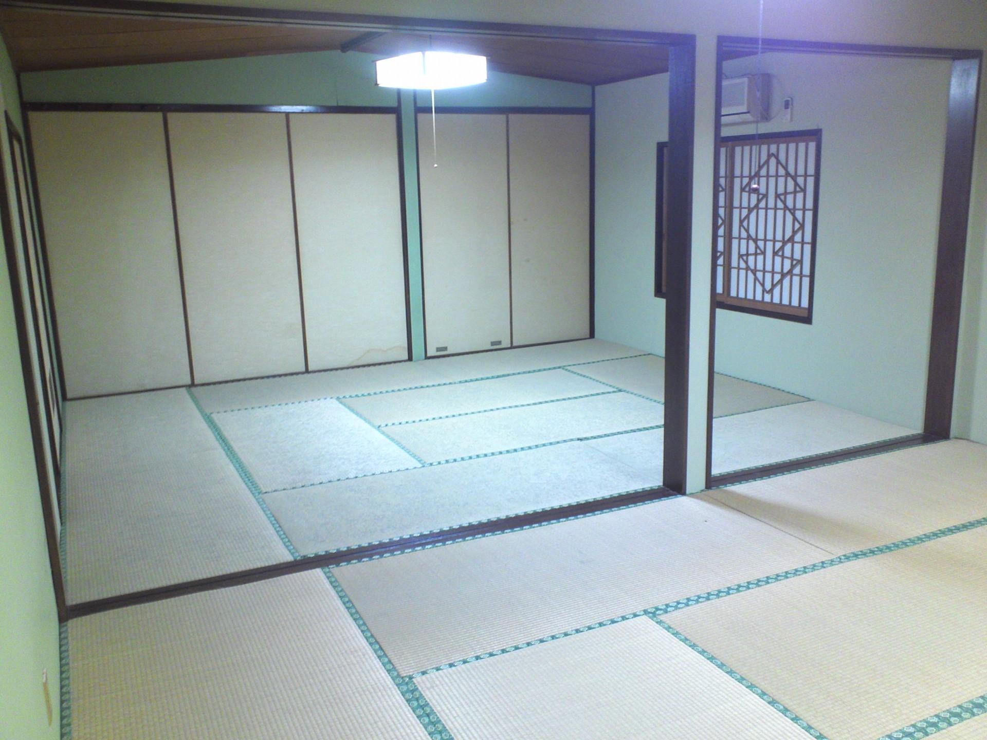 2階は27.5畳の大広間(仕切り可能)と10畳の広間があります。