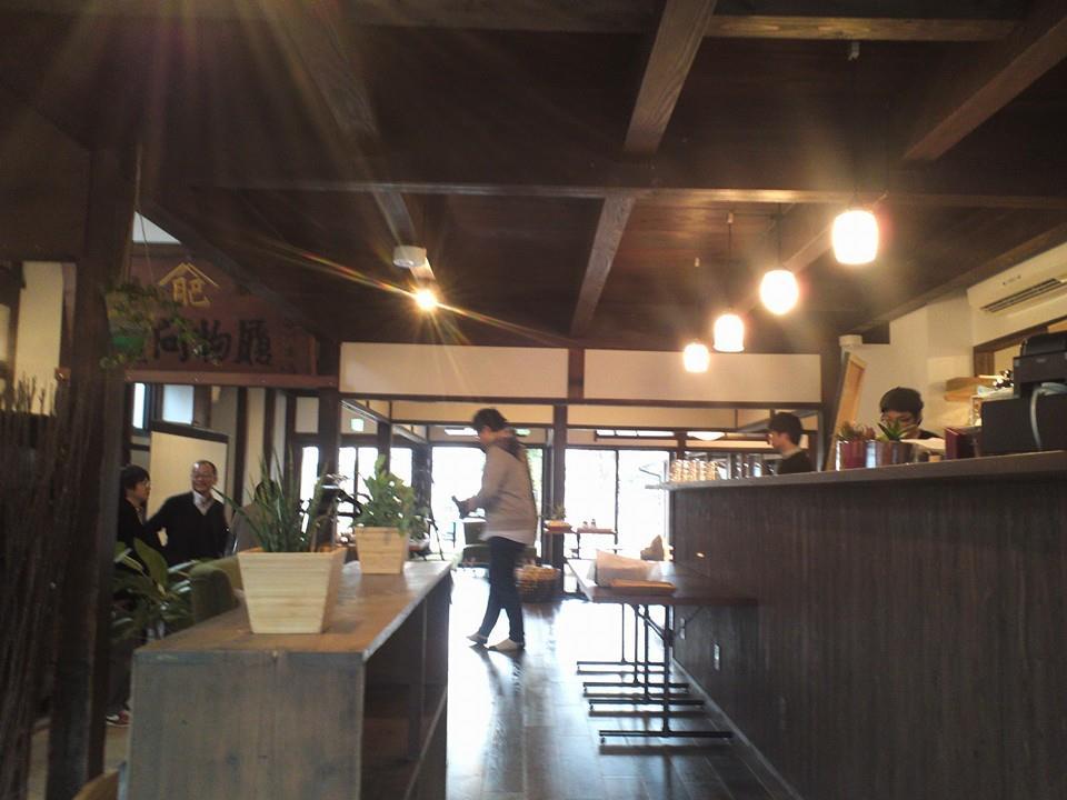 ただの和室だったのに、中にはカフェができていました