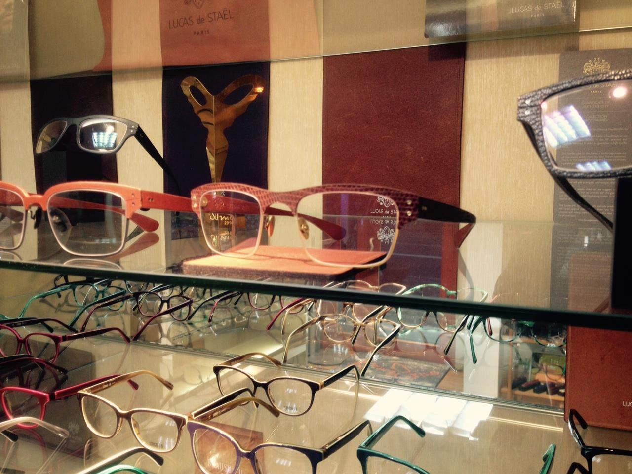 LACAS de STAEL レザーフレーム眼鏡 100,000円