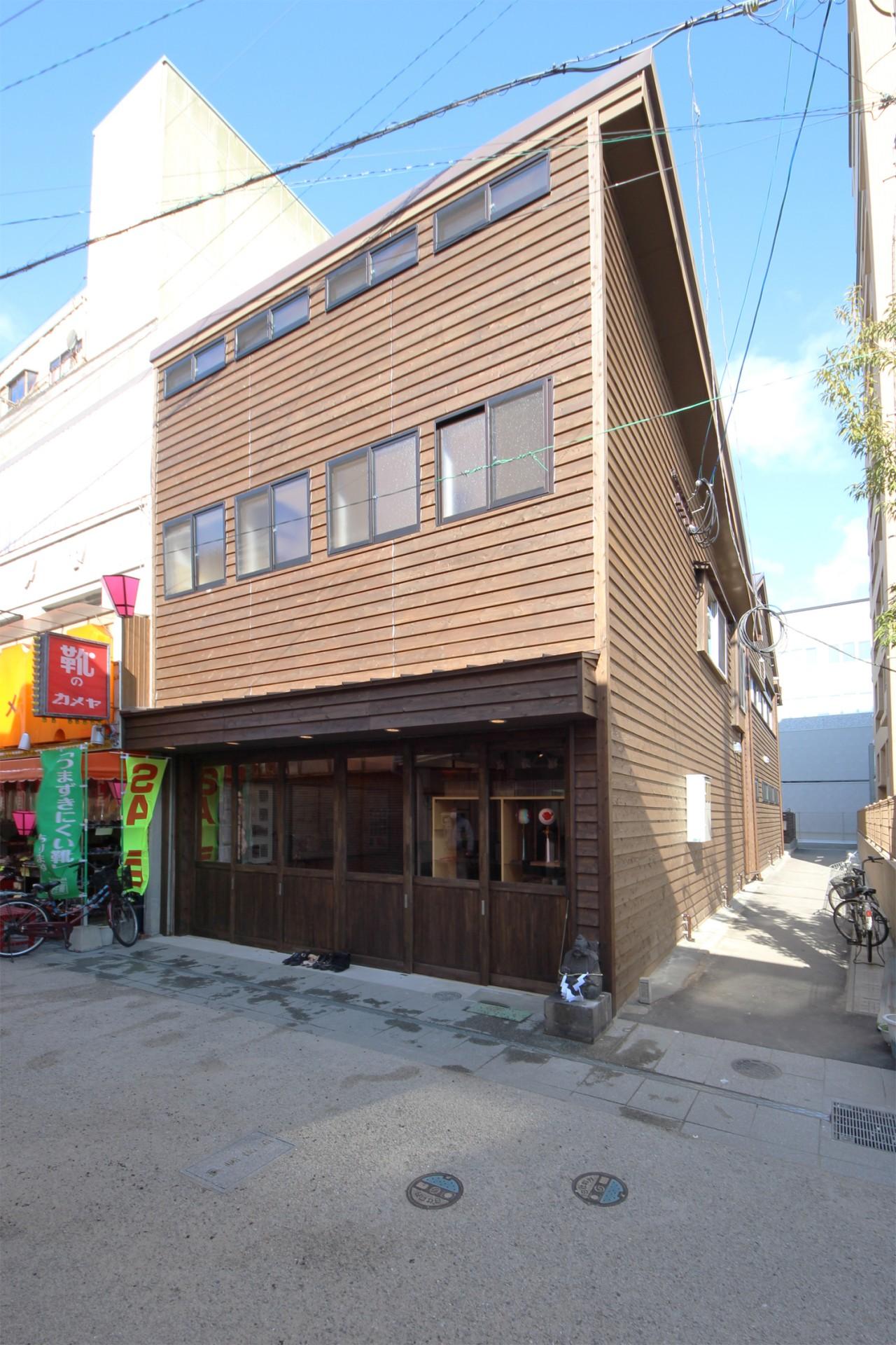物件の場所は呉服元町の656広場より徒歩1分ないぐらいの近さ。