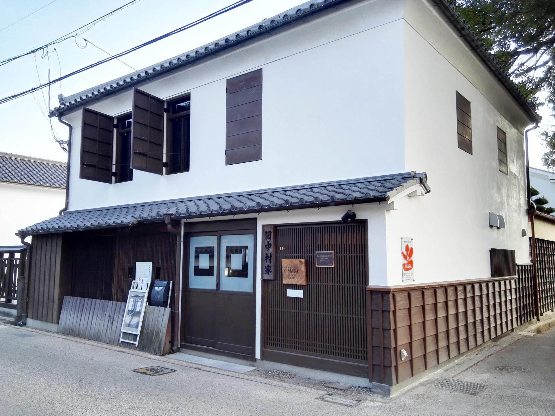 スタジオがあるのは柳町の旧中村家。