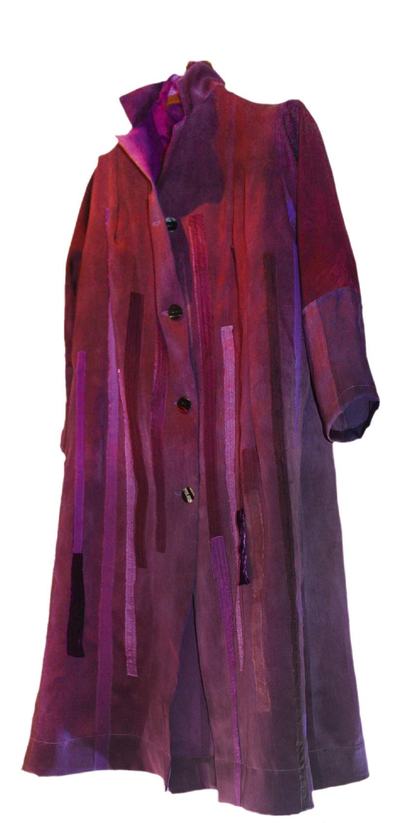 草木染めの作品の一例 3/24~ 「サトウノリコ展」。