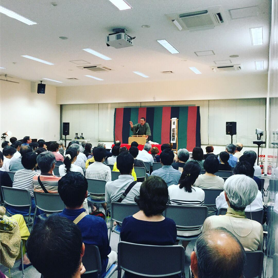 前回の「弐の壱寄席」in 佐賀商工ビル