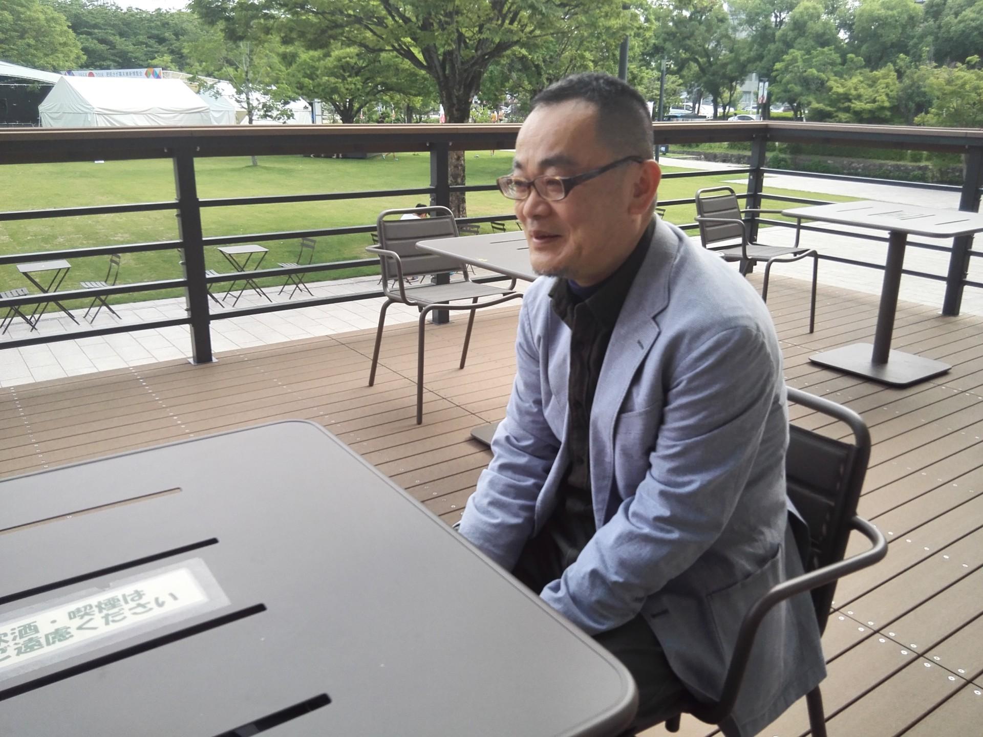 まちあるきを企画した桜井篤プロデューサー