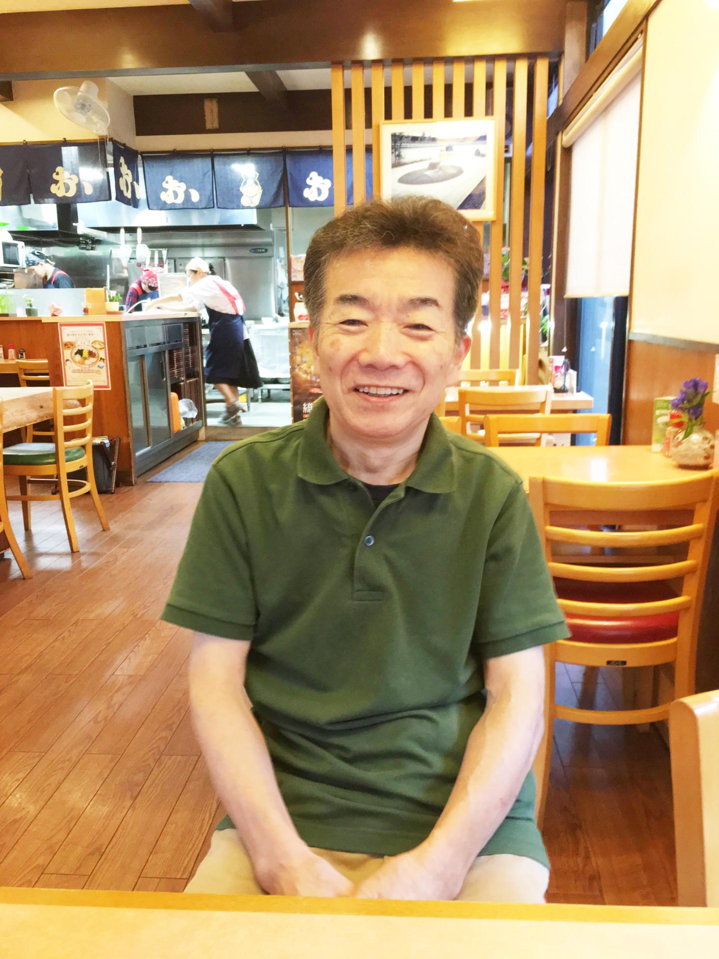 店主 西岡忠芳(ただよし)さん