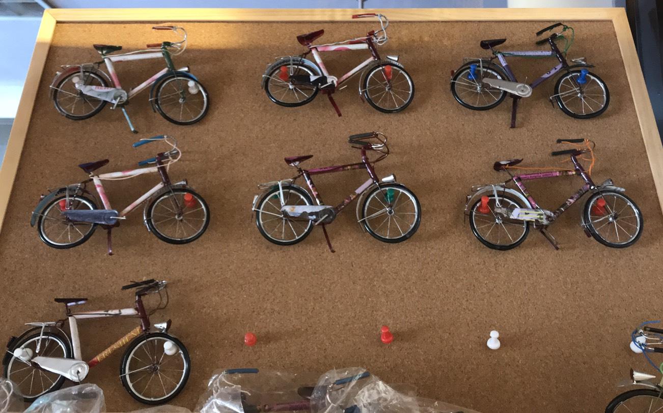 中にはこんなものも。マダガスカル産自転車