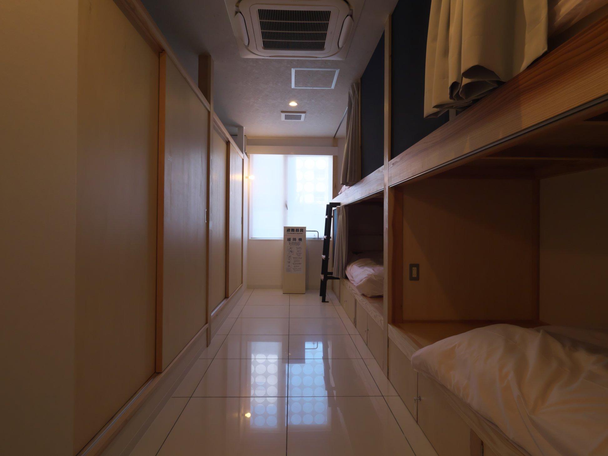 2F宿泊スペース(ドミトリー)