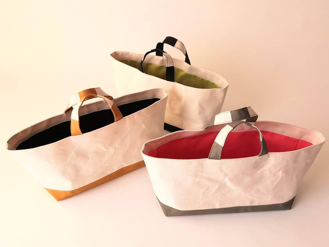 店主オリジナルブランド「CUBIE」の帆布バッグ