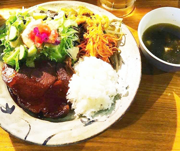 B.B.P.煮豚プレート