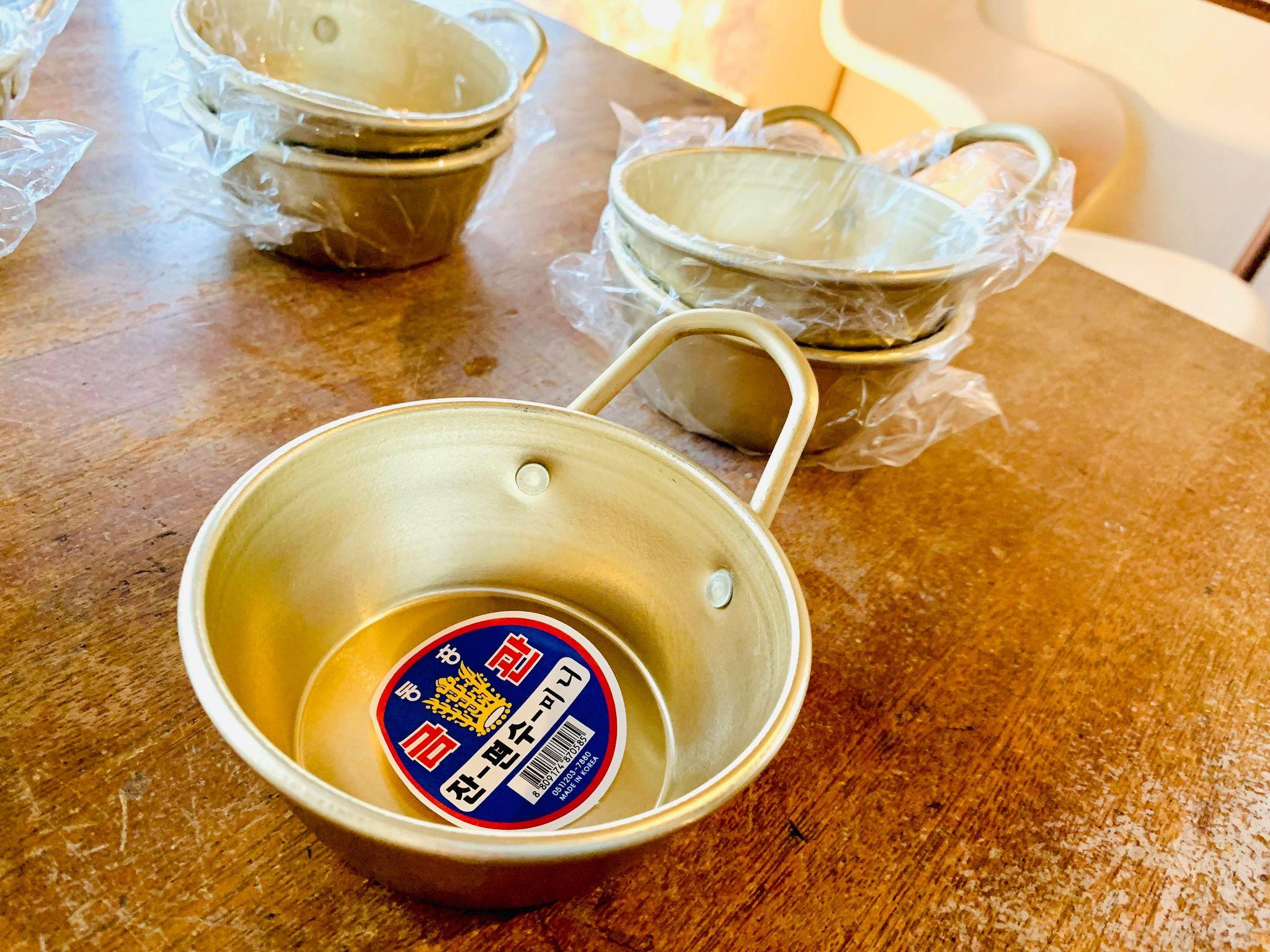 韓国のマッコリ飲用の器